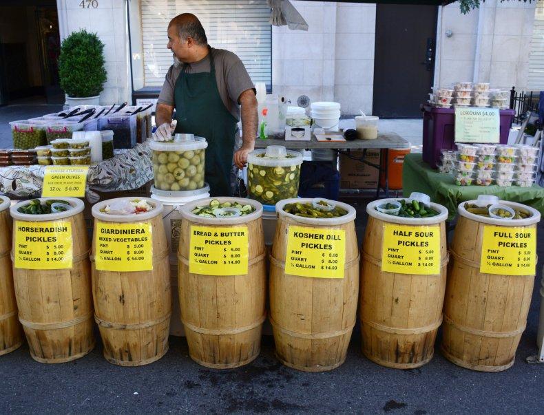 Pickle Vendor