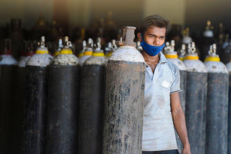 india, oxygen, covid-19, shortage, crisis