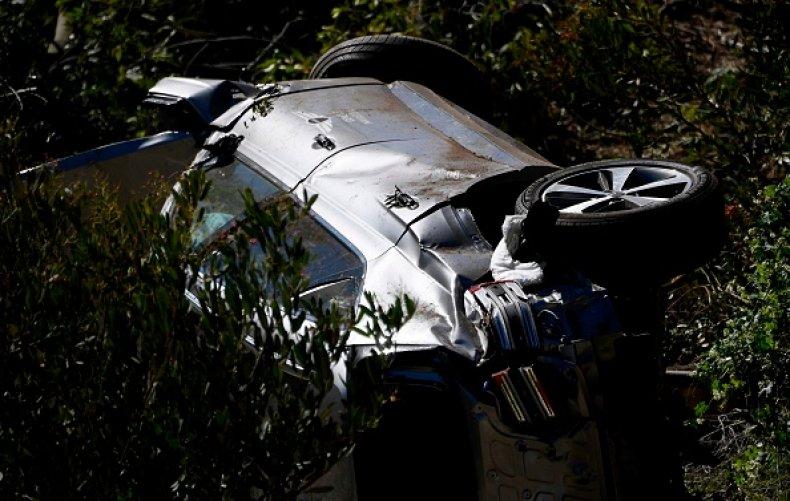 Tiger Woods SUV crash