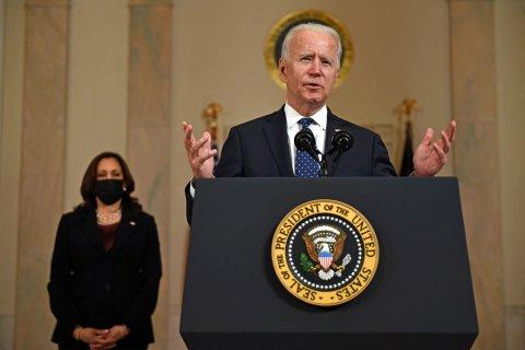 Biden speaking after Floyd verdict