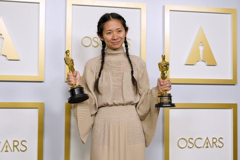 Chloé Zhao Wins Oscar for Nomadland