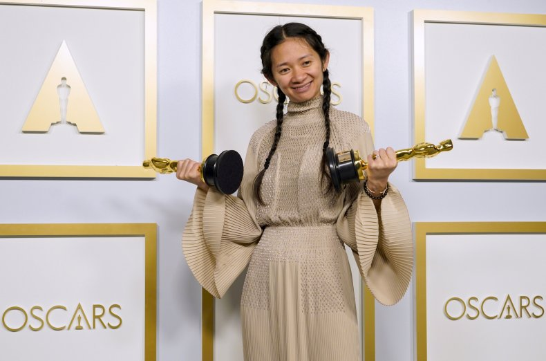 Chloe Zhao Oscars