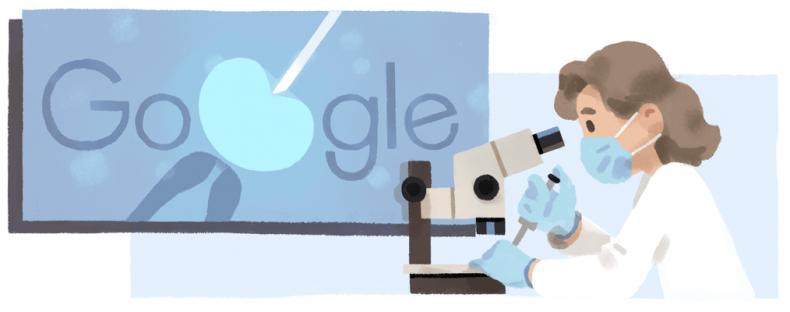 Anne McLaren Google Doodle