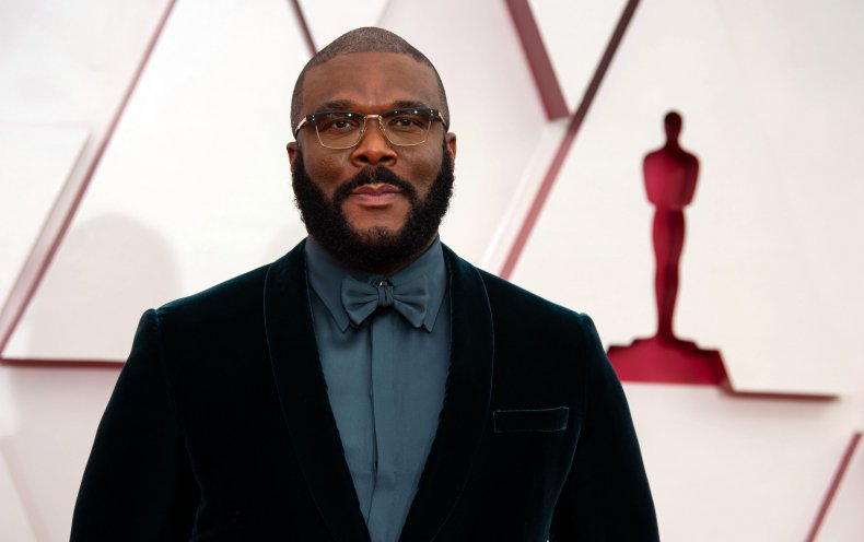 Tyler Perry delivered an inspirational speech