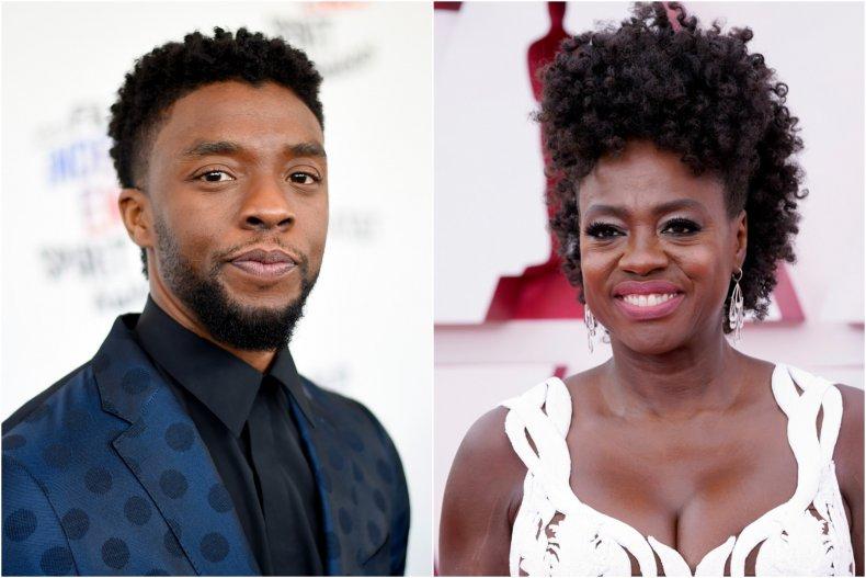 Chadwick Boseman Viola Davis Oscars 2021