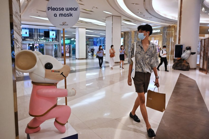 Thailand Mask Rule Fine