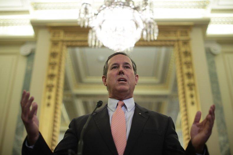 Rick Santorum news conference 2017