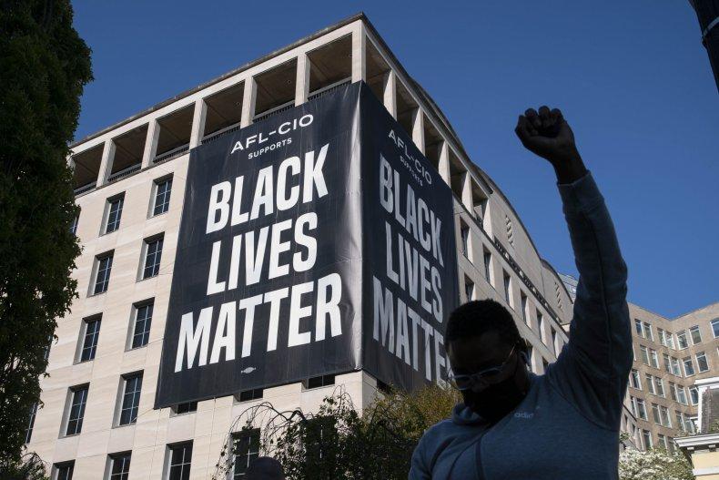 black lives matter ew jackson covid