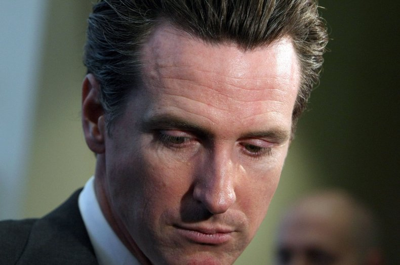 California governor Gavin Newsom recall election