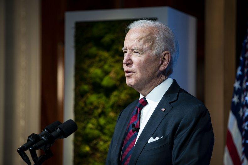 Biden speaks at East Room of WH