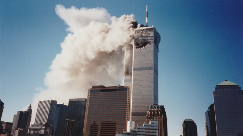 9/11 attacks new photo