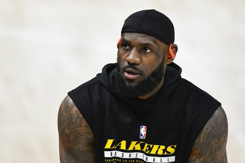 LeBron James was critisized over his comments