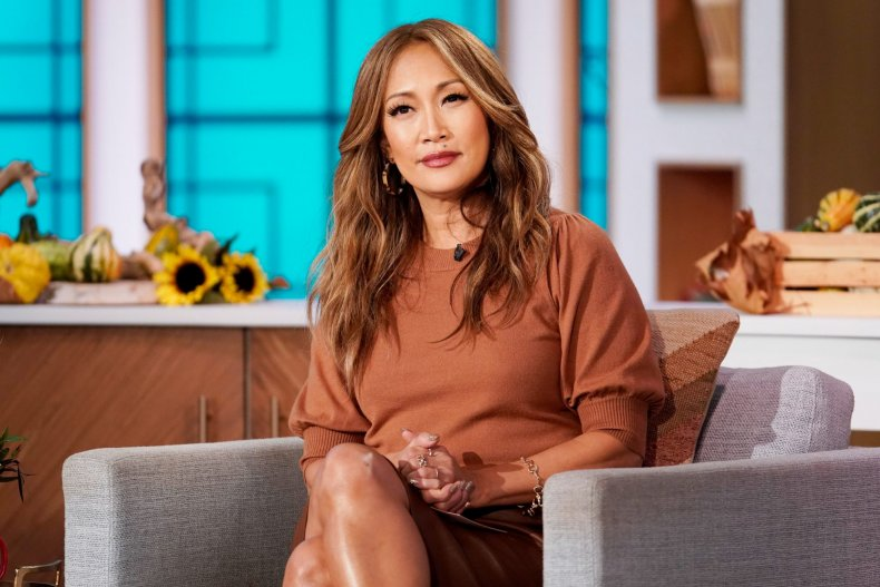 the talk carrie ann inaba
