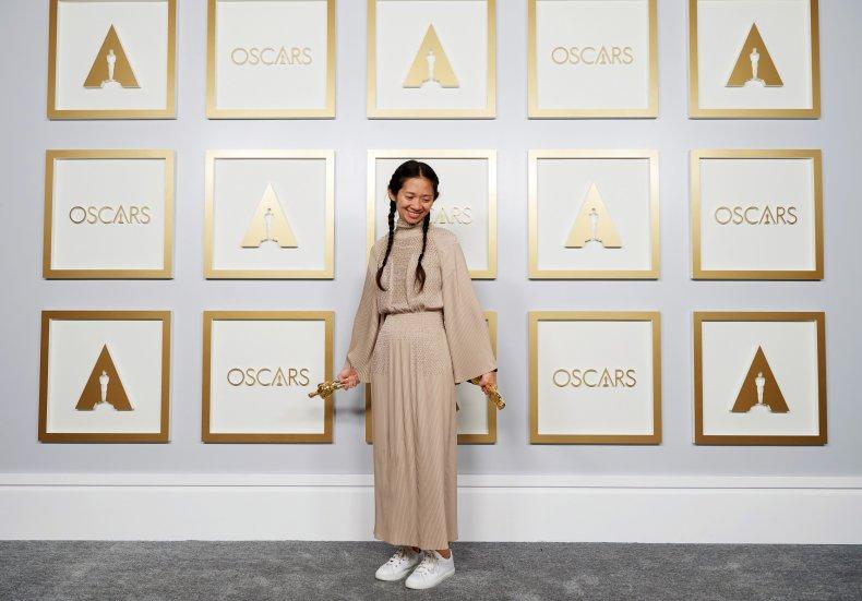 Chloé Zhao Wins Big At Oscars
