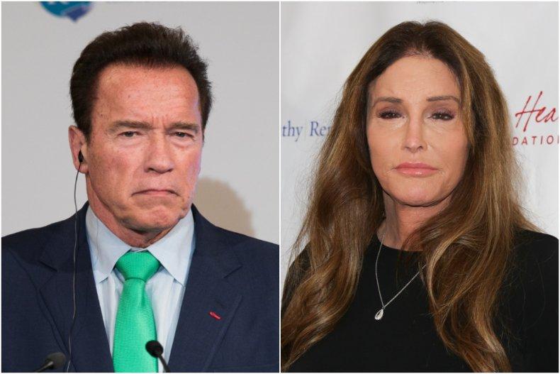 Arnold Schwarzenegger Caitlyn Jenner