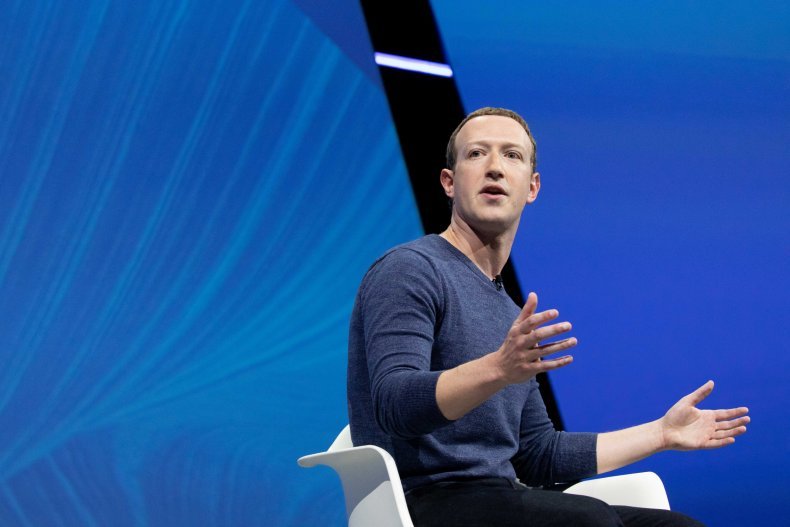 Mark Zuckerberg speaking