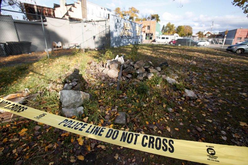 Crime scene Detroit