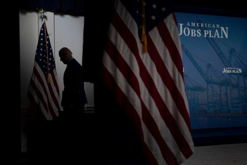 Biden leaving White House briefing