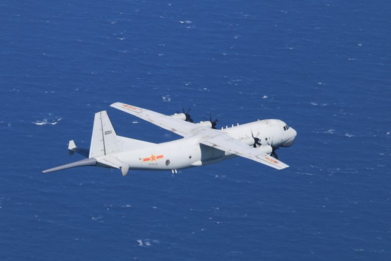 Chinese Spy Plane Flies Low-Altitude Mission