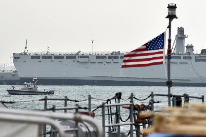 US Navy Iran Ship