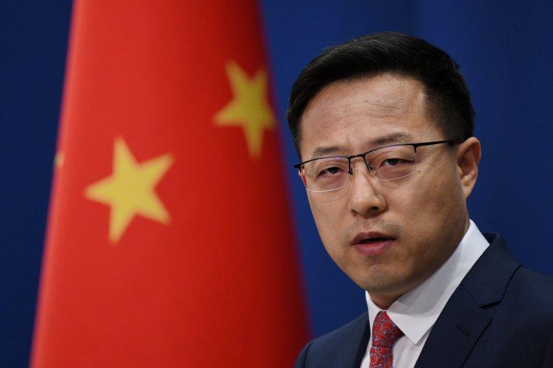 Chinese Foreign Ministry Apokesman Zhao Lijian