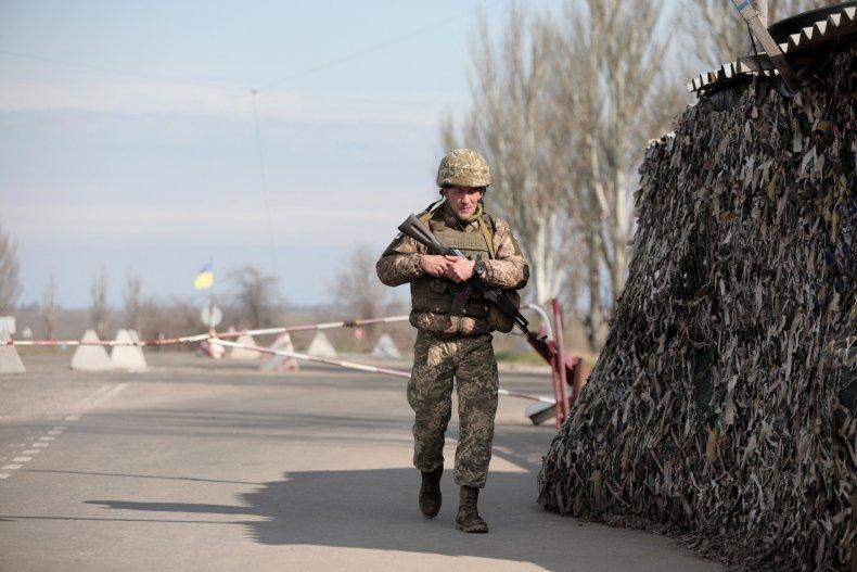 Ukraine Border Russia Troops
