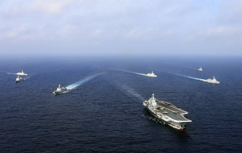 U.S. Warship Shadows Homebound Chinese Carrier Group