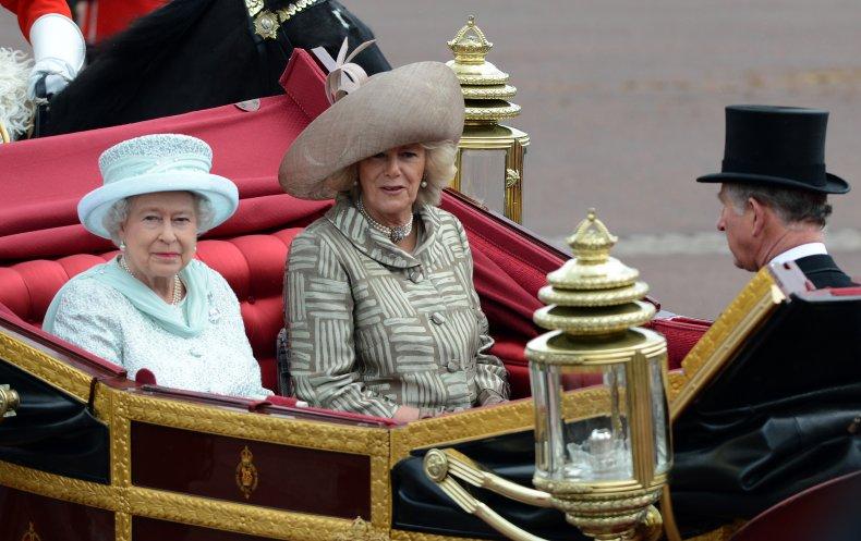 Queen Elizabeth II Diamond Jubilee Procession
