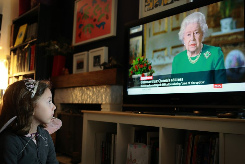 Queen Elizabeth II COVID Special Broadcast