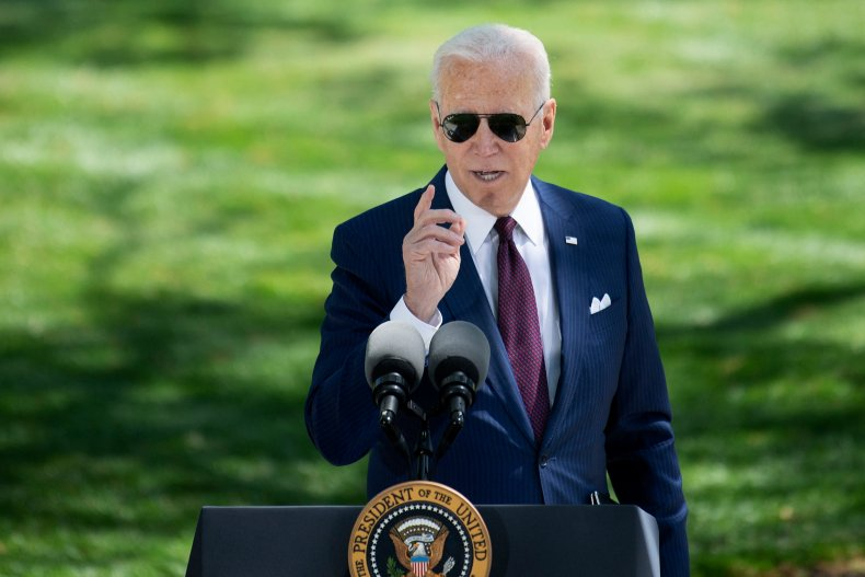 Joe Biden Gives Congress American Families Plan