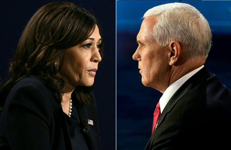 Harris Pence face-to-face