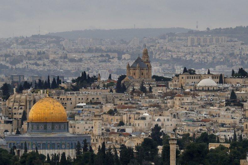 Old City of Jerusalem in January 2021