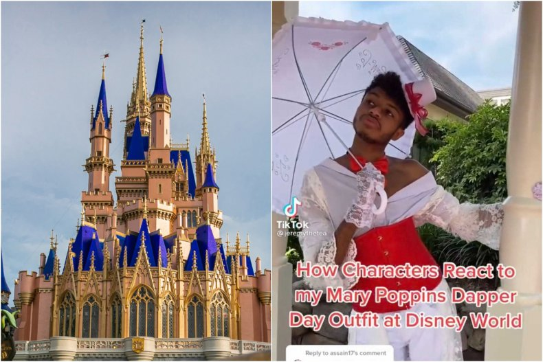 Mary Poppins at Disney TikTok