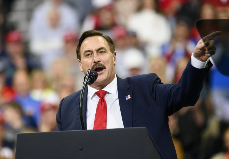 Mike Lindell speaking