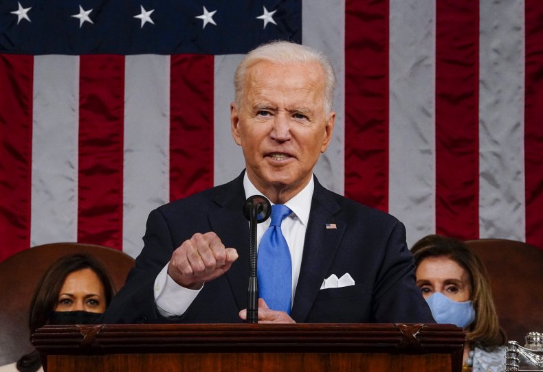 Biden Addresses a Joint Session of Congress