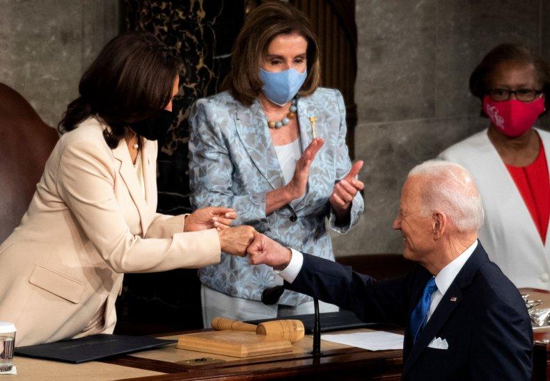 Biden, Pelosi, Harris in Congress