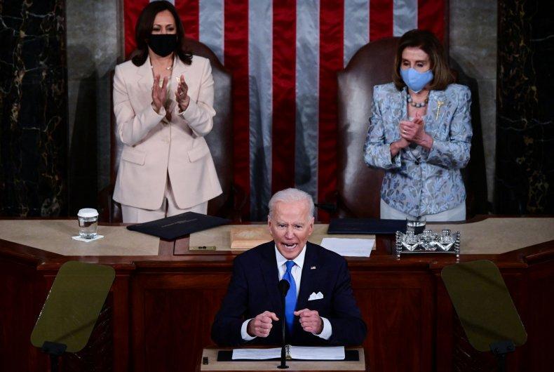 Biden, Harris and Pelosi