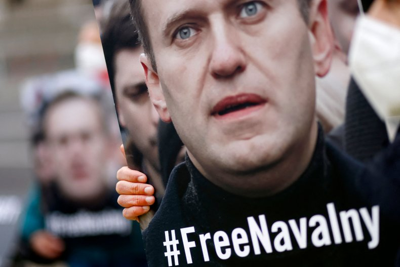 Alexei Navalny supporters
