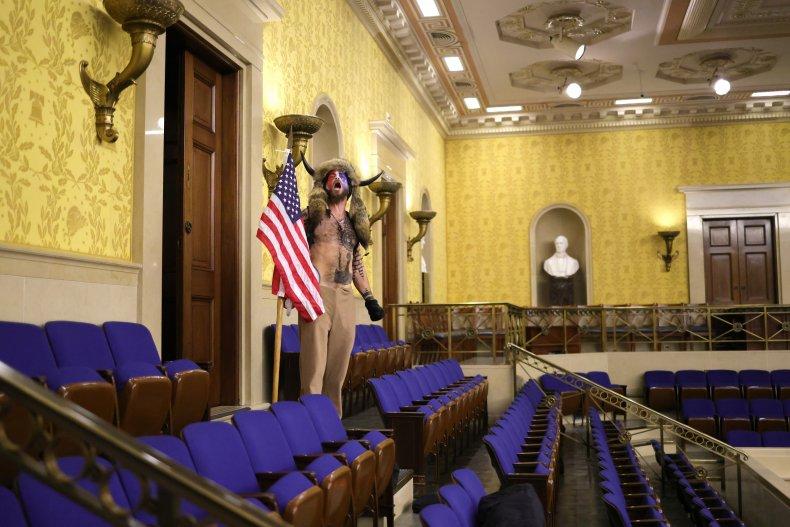 Jan 6 Senate chamber