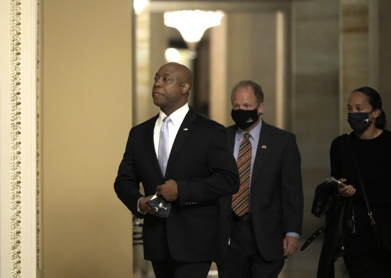 "Tim Scott Twitter trend ""Uncle Tim"""