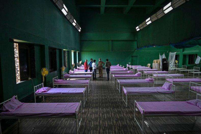 India Makeshift Hospital