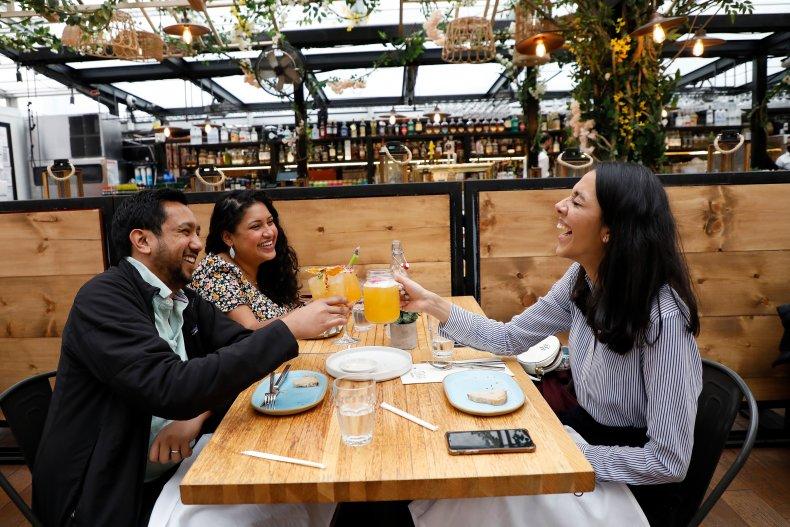 The SERRA by Birreria restaurant in NYC