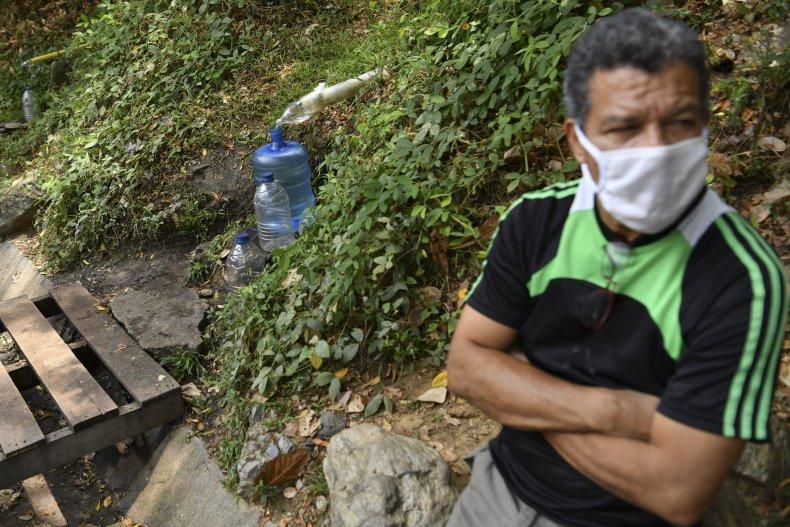 A Man in Caracas, Venezuela