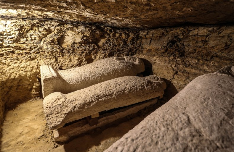 Ancient Egyptian tombs found by archaeologists