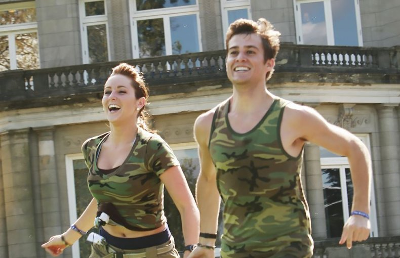 Nick and Starr Spangler on Amazing Race