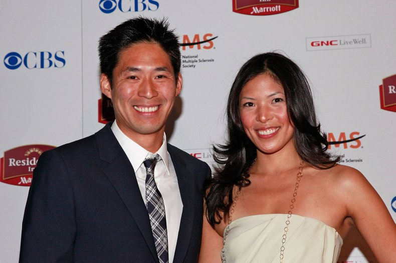 Tammy and Victor Jih at screening
