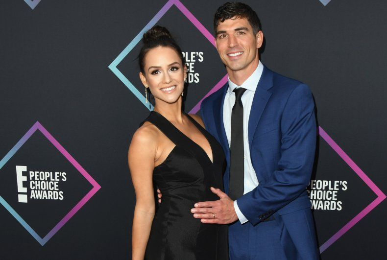 Jessica Graf and Cody Nickson at awards