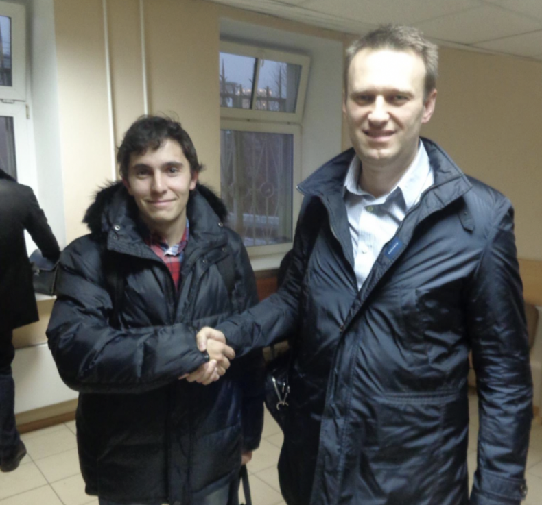 Andrey Borovikov Alexei Navalny Prison Sentence