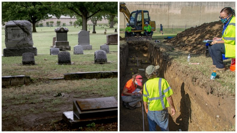 Finds at Tulsa Mass Grave Discovery