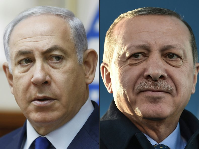 israel, benjamin, netanyahu, turkey, recep, erdogan